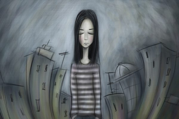 Depression-and-being-alone