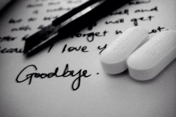 lettera suicidio